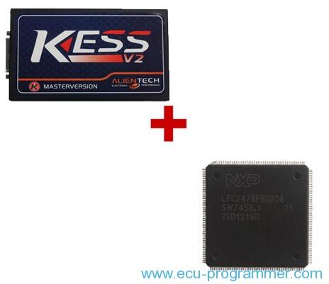 V2.08 V2.22 Kess V2 Firmware V4.024 Truck Master ECU Programmer Plus CPU NXP Fix Chip