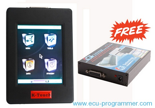 New Genius & Flash Point Hand-held OBD2 Boot Master ECU Programmer Touch MAP