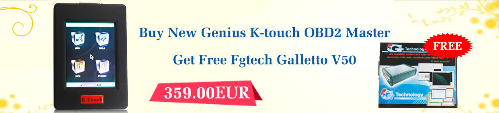 new genius k-touch map