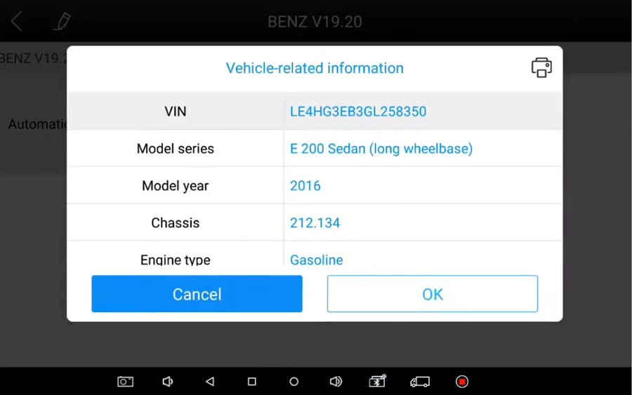 xtool a80 pro vehicle related info